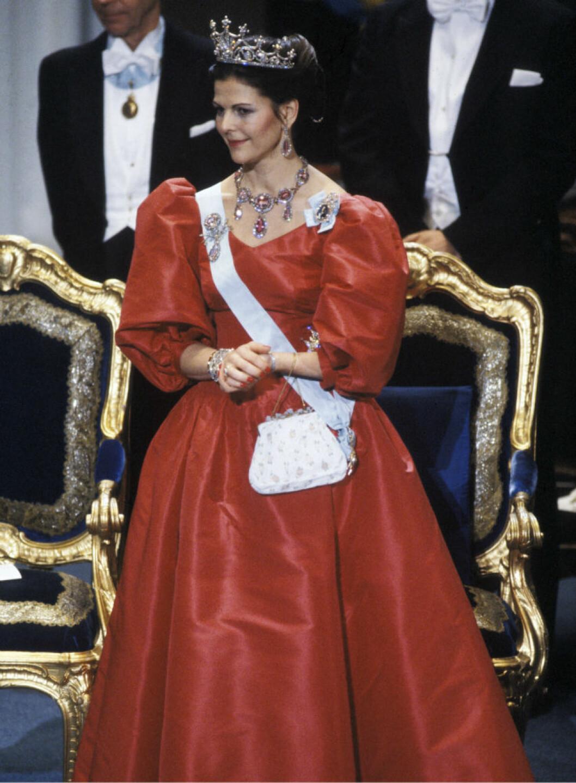 1983 drottning Silvia i klänning av Jörgen Bender