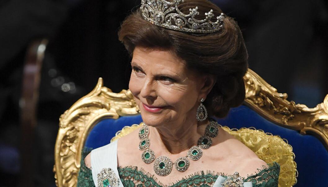 Drottning Silvias nobelklänningar
