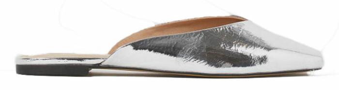 silvriga skor från h&m.