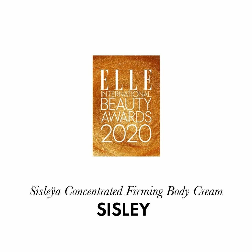 Årets kroppsprodukt Sisleÿa concentrated firming body cream från Sisley.