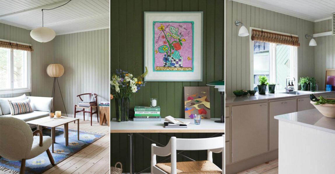 Inspireras av modellen Josefine Vibe och maken Mikkels magiska sommarhus på Själland