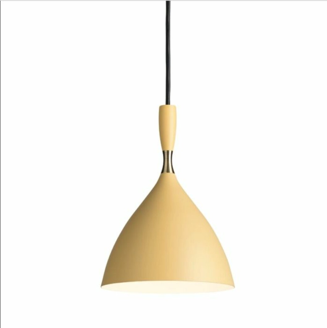 Låt belysningen skina i färg med taklampan Dokka från Northern med design av Birger Dahl.