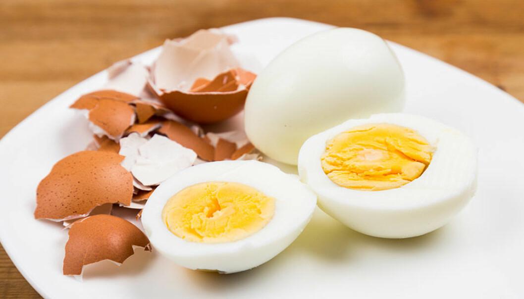 Skala ägg snabbt!