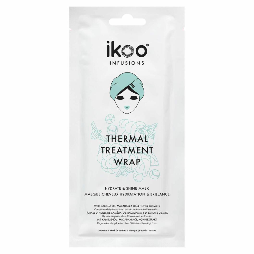 Skäm bort ditt hår med en återfuktande och lystergivande hårmask från Ikoo.