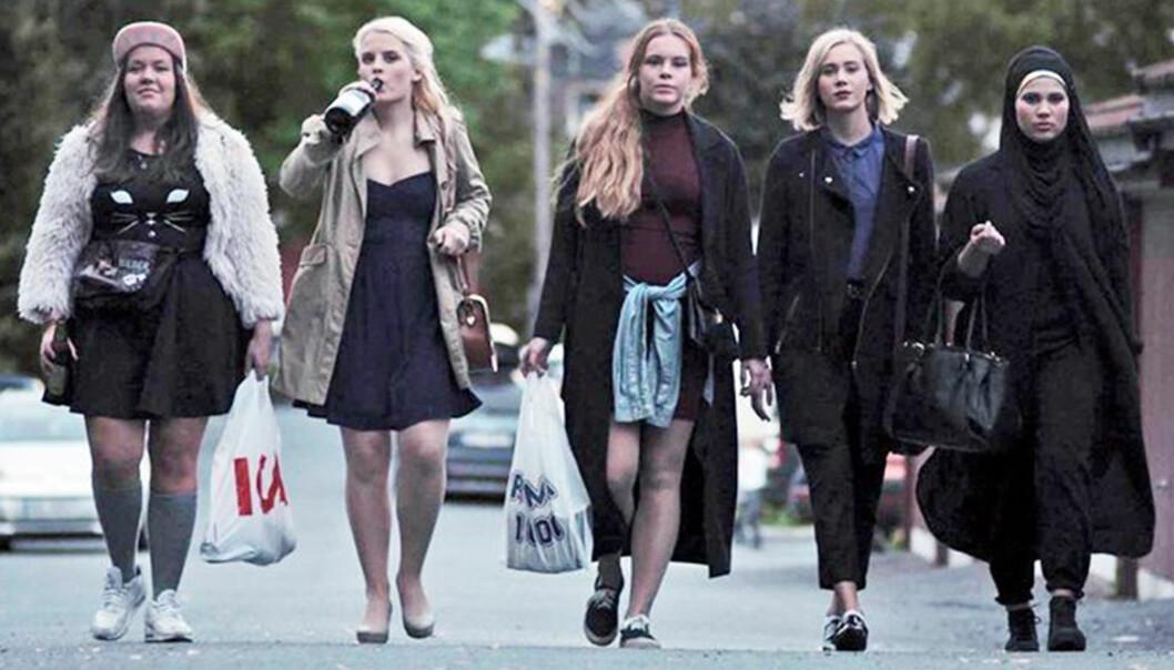 tjejerna i Skam