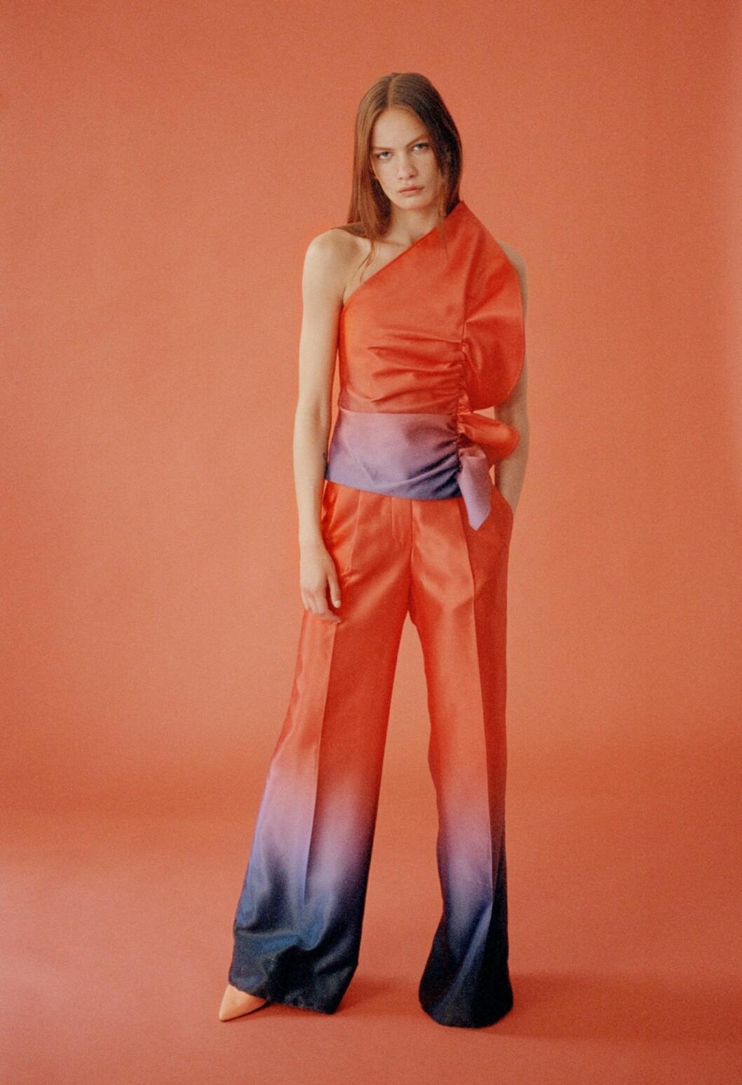 Så stylar du den skandinaviska trenden 2020, orange set från Soeren Le Schmidt