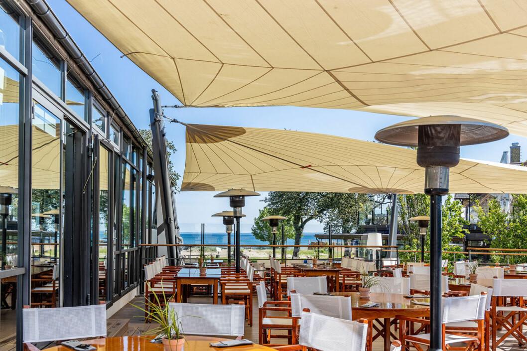 Strand Båstad restaurang