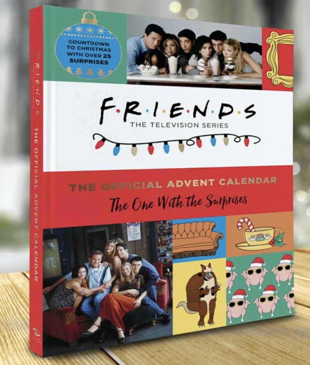 adventskalender vänner