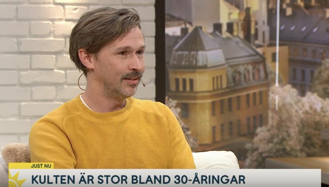 Gustaf Åkerblom spelade Ivar i Mysteriet på Greveholm.