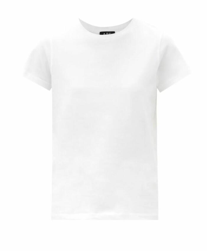 Vit t-shirt från A.P.C.