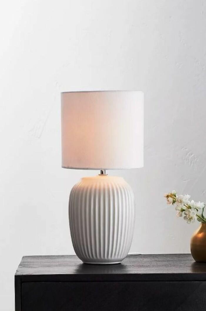 vit bordslampa