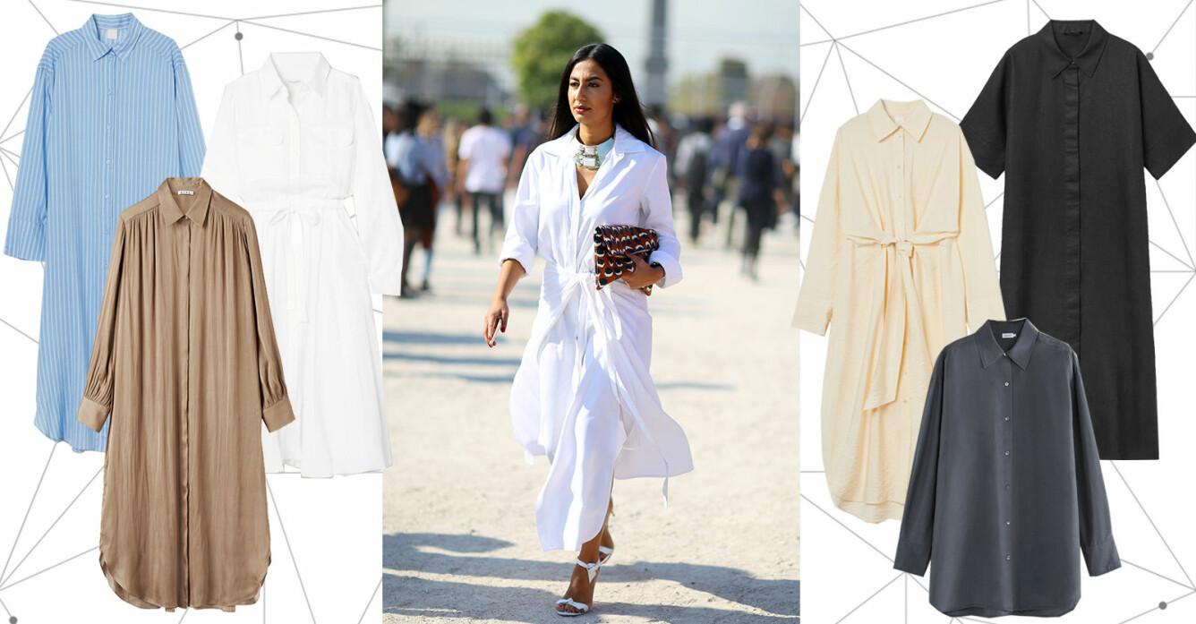 Lång skjorta och skjortklänning 2021