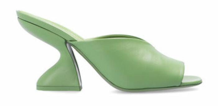 grön sandalett dam