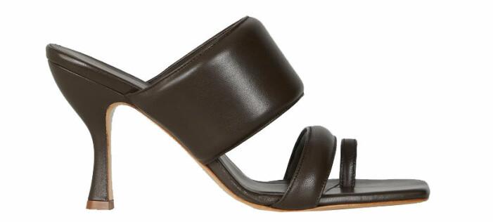 bruna sandaletter