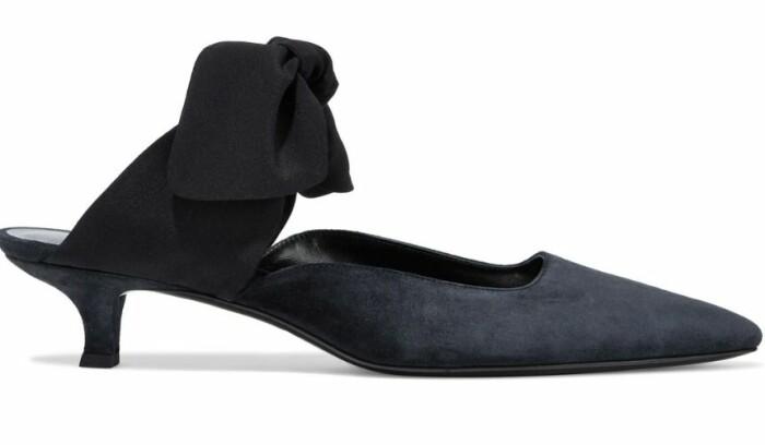 sko med rosett från the row