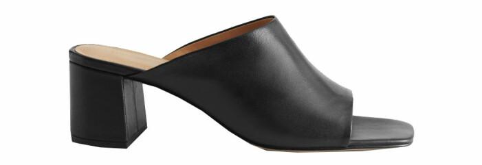 skor med fyrkantig tå