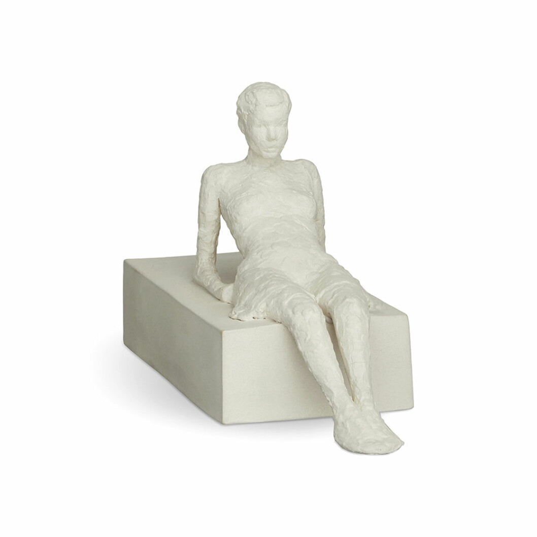 The Attentive One-skulptur från Kähler