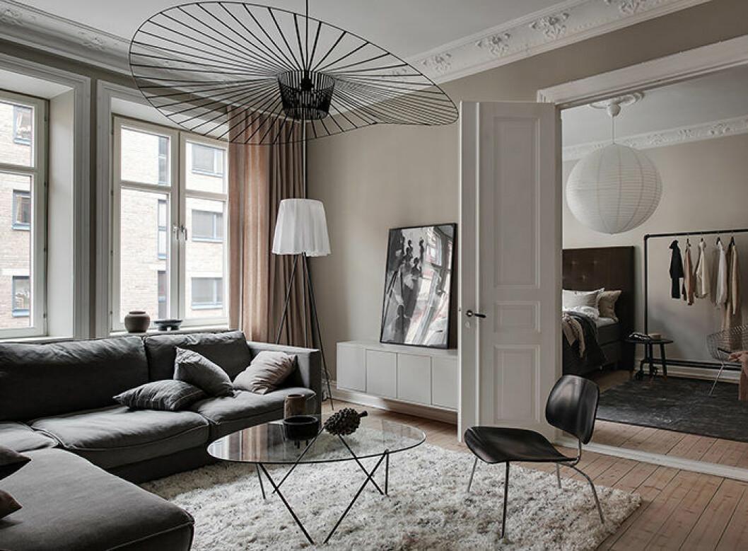 Skulpturala lampor är ett självklart inslag i många skandinaviska hem