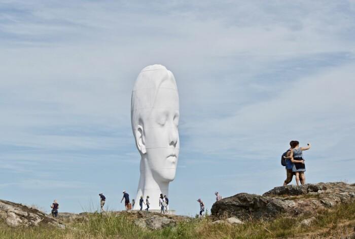 Skulpturparker Sverige ELLE Decoration semester Pilane