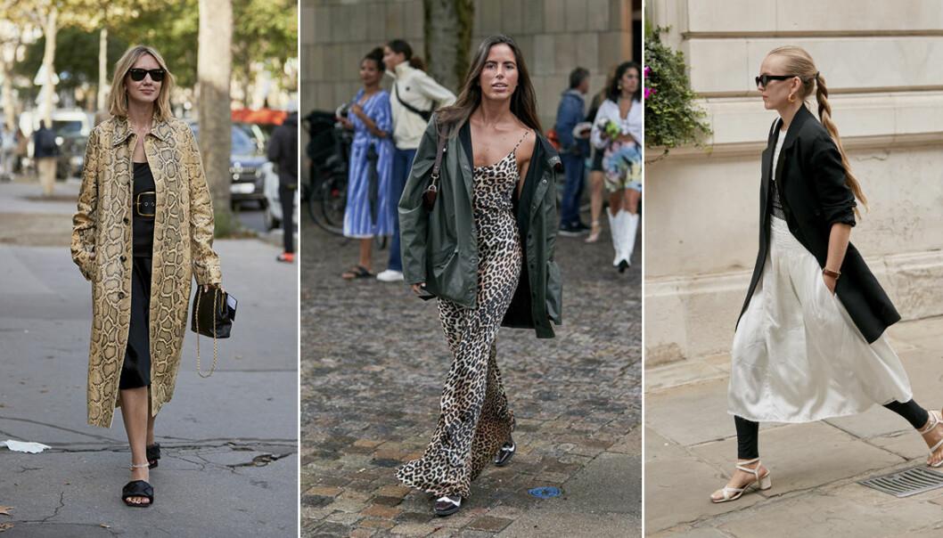 Slipklänningar och midiklänningar 2020
