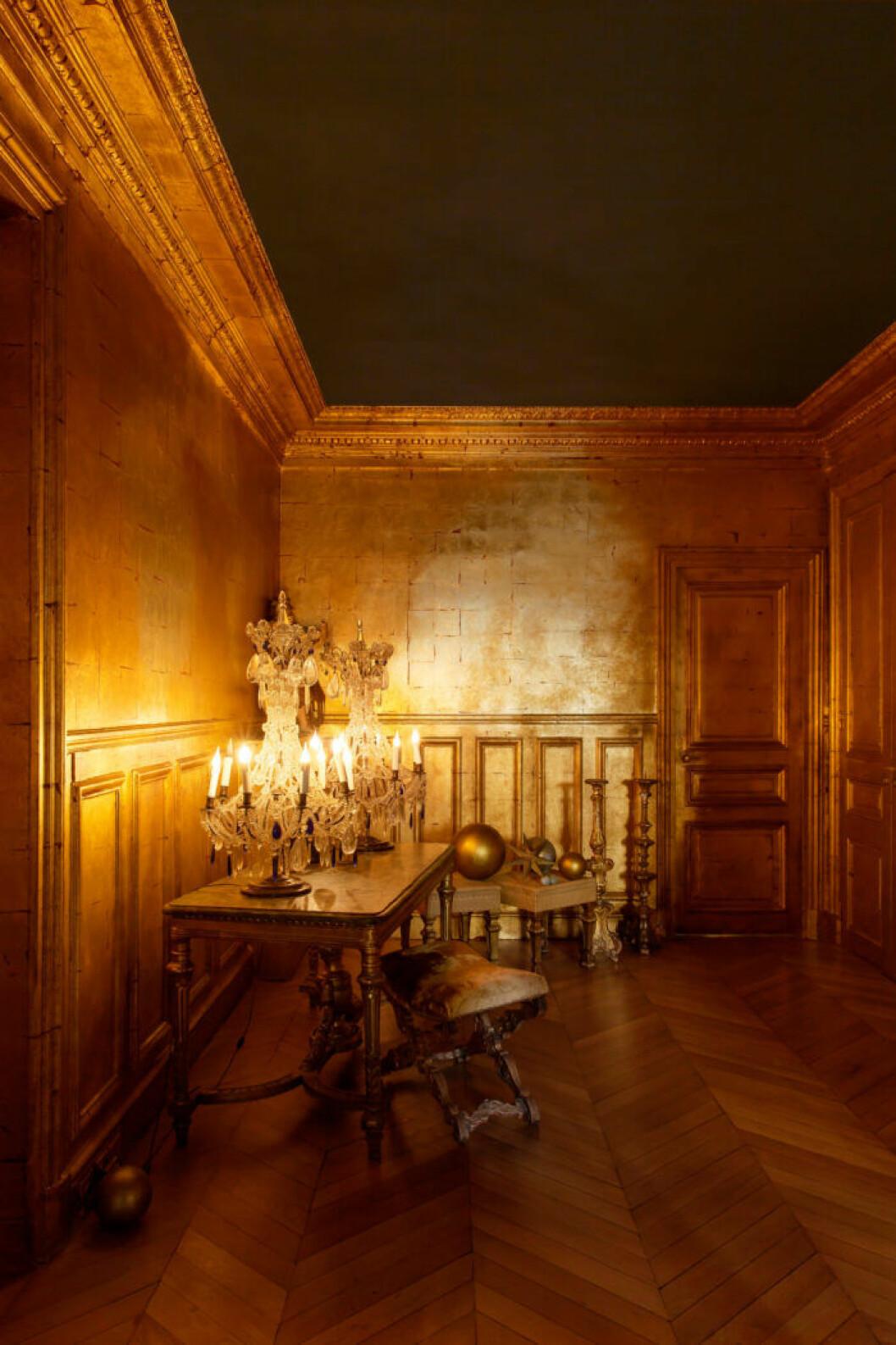 Chateau Gudanes går i slottsstil