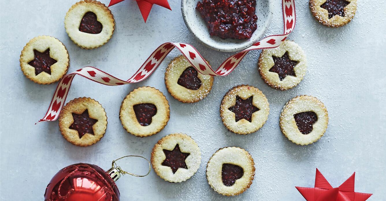 Recept på småkakor med julmarmelad