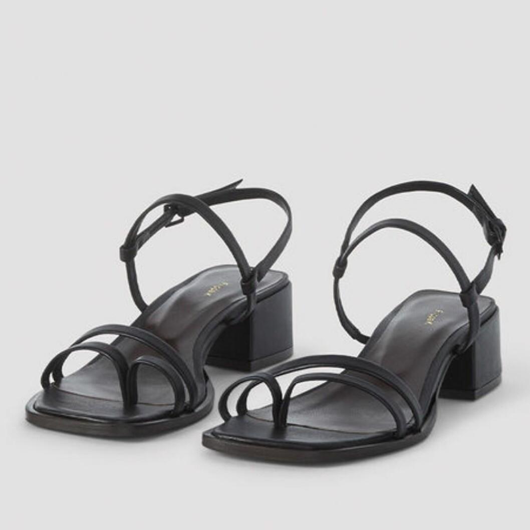 Svarta lädersandaler från Filippa K