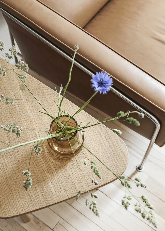 Smarta lösningar Århus vas soffbord blåklint