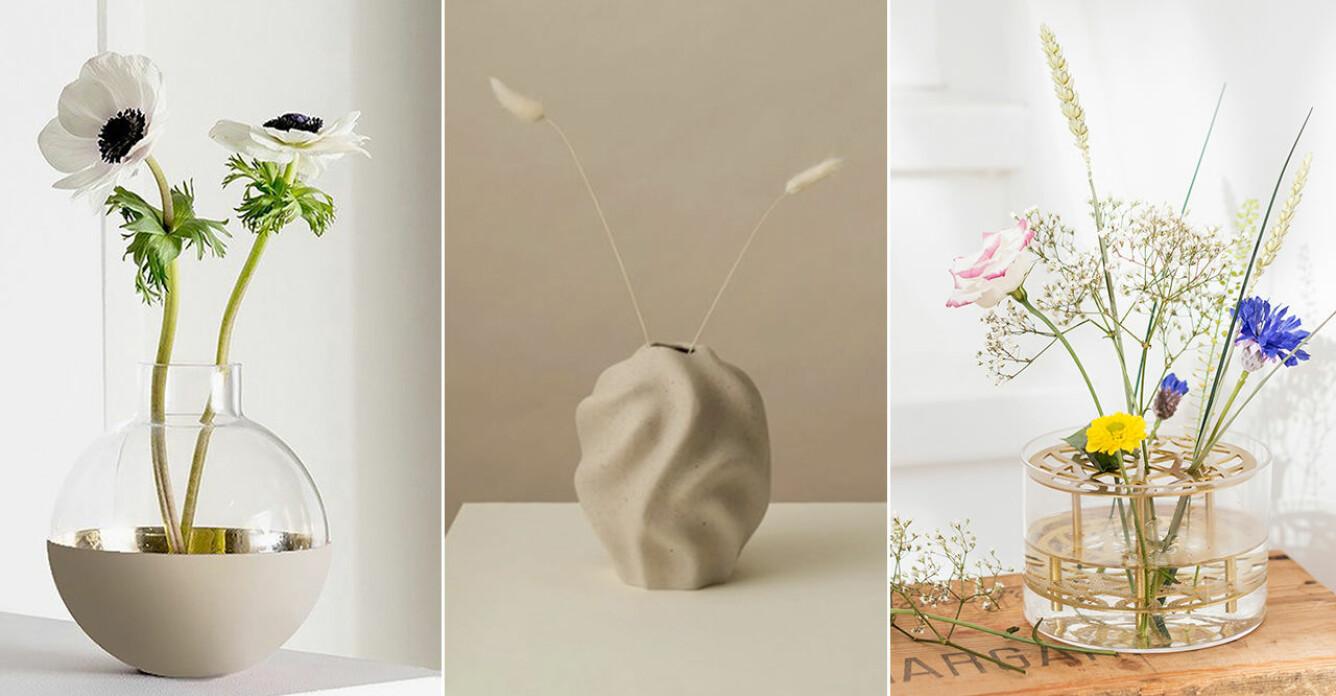 små vaser