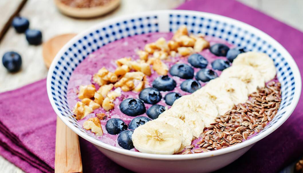 Har du koll på kalorierna i en smoothie bowl?