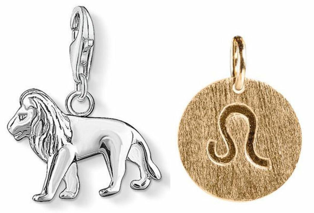 Lejonet, berlocker från Thomas Sabo.