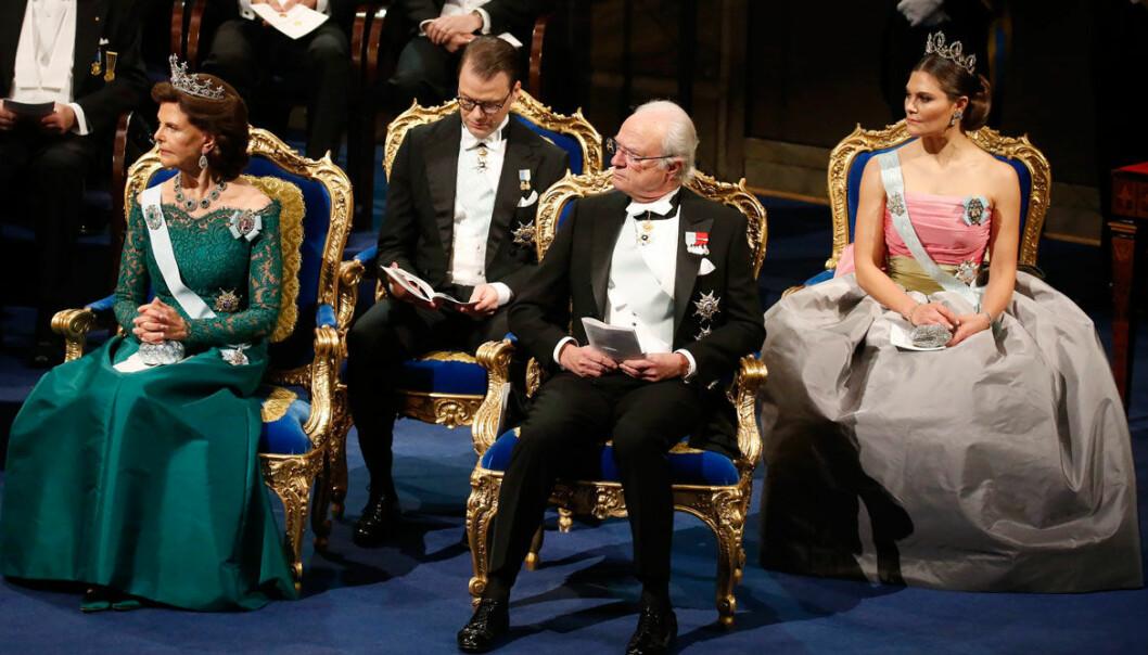 Kungligheternas smycken på Nobel 2018