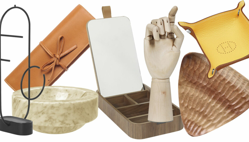Shopping: smyckesförvaring