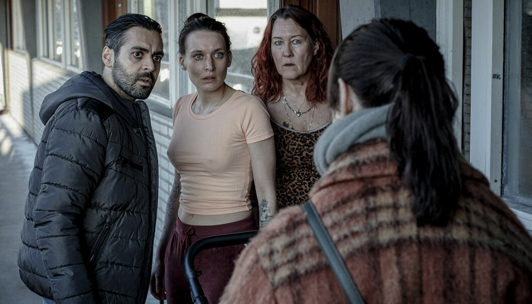Snöänglar tv-serie SVT