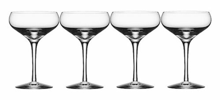 snygga champagneglas