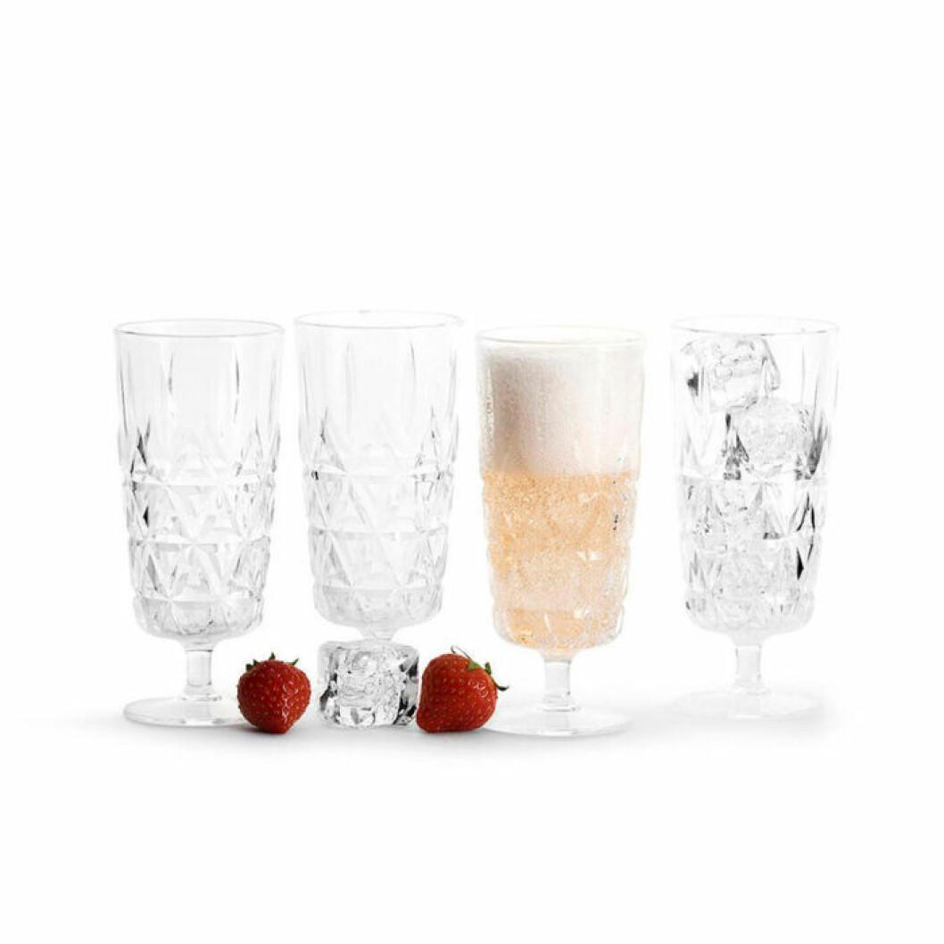 Snygga vinglas i plast från Sagaform