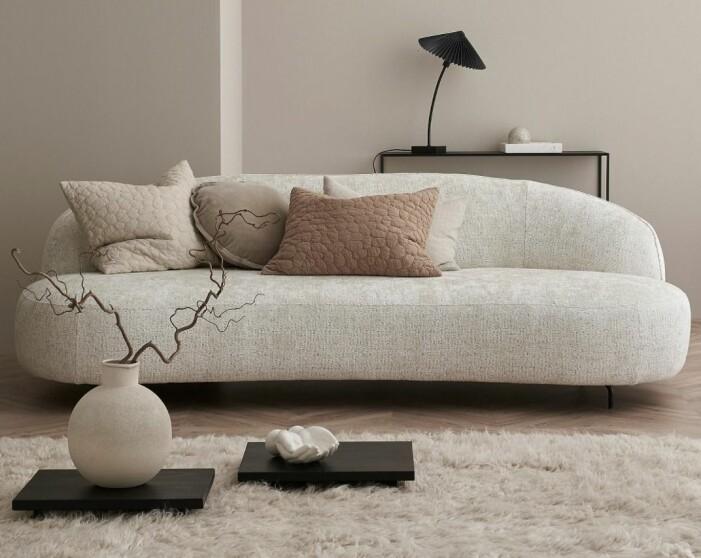 Vit soffa Furninova