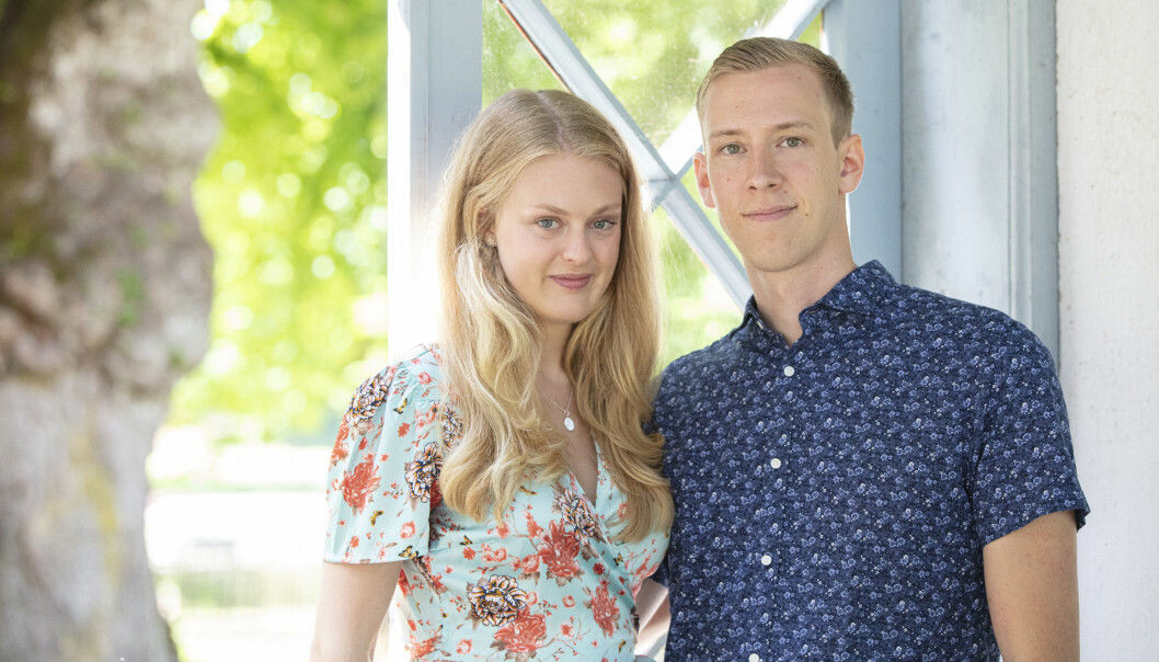 Sofia Lindhe och Anton Pehrson från Gift vid första ögonkastet