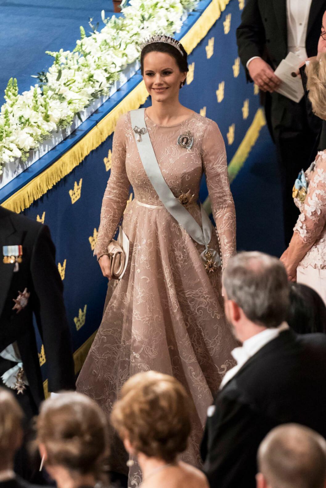 Prinsessan Sofia på Nobel i Ida Lanto