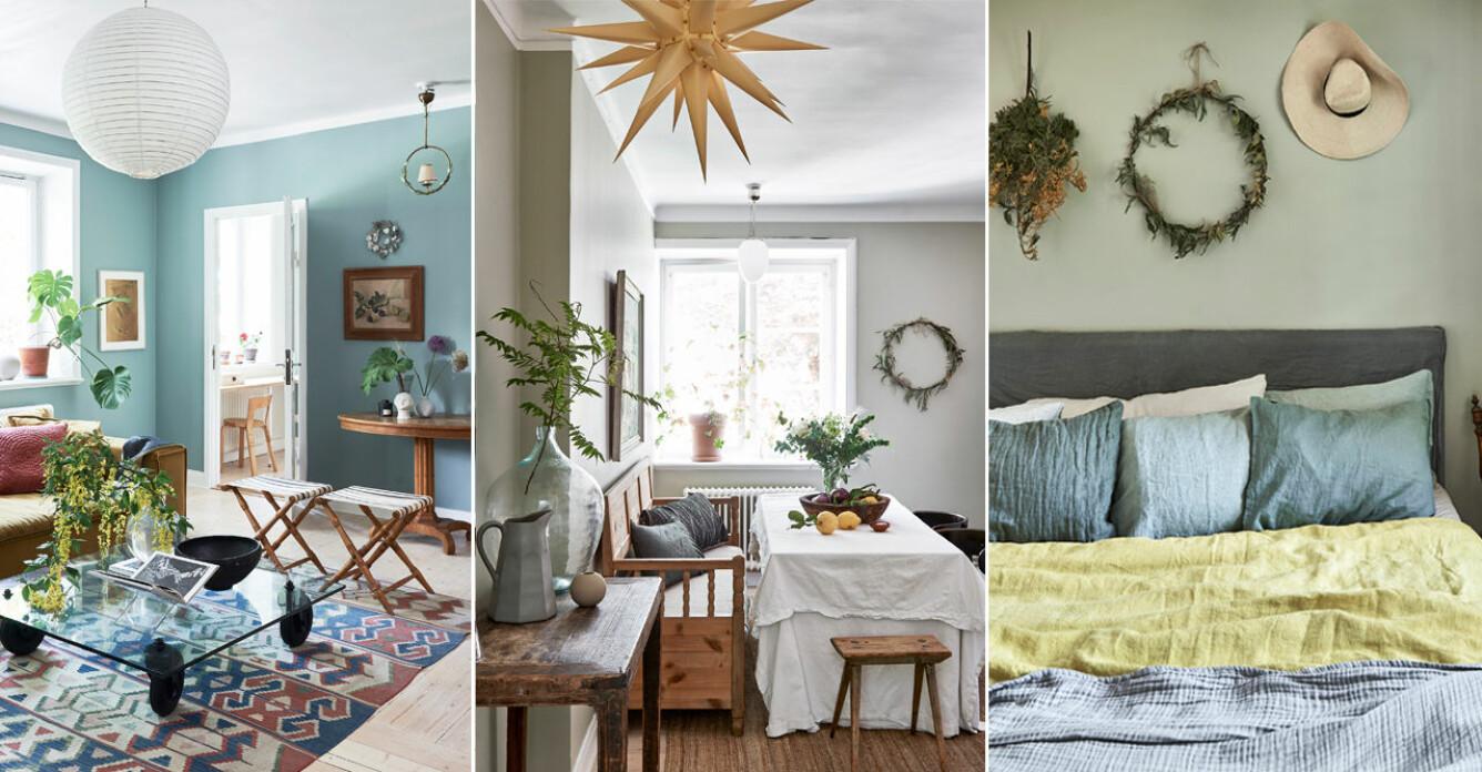 Se alla bilder från Sofia Woods magiska hem i Enskede