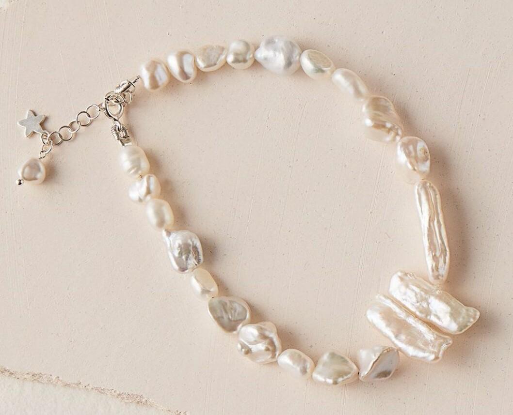 ankelkedja med pärlor från Buccarello Jewellery