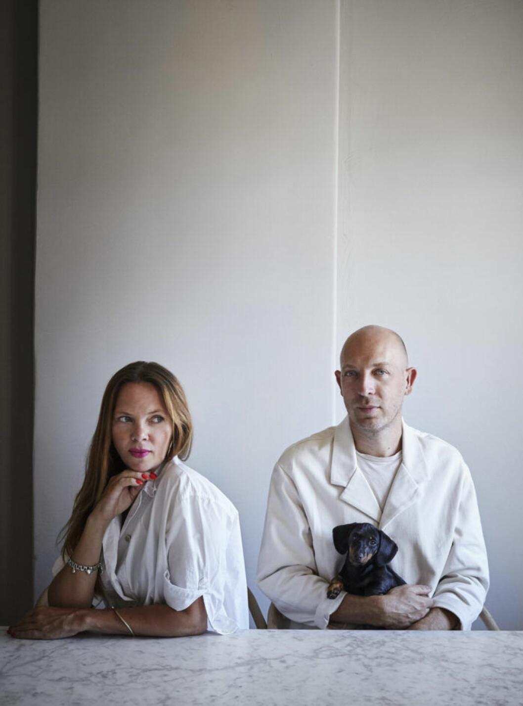 Sofie Ekeberg och Christian Duivenvoorden