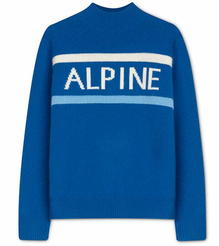 softgoat-tröja blå