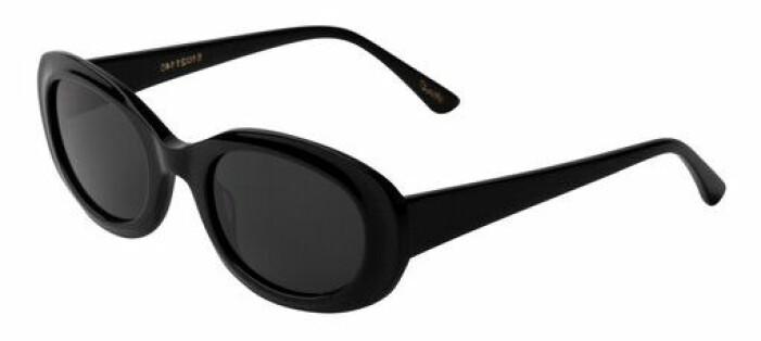 svarta solglasögon corlin eyewear