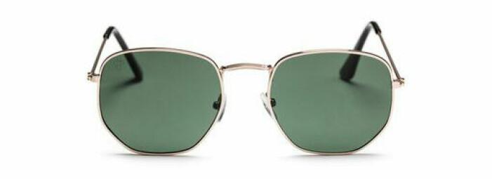 solglasögon grönt glas