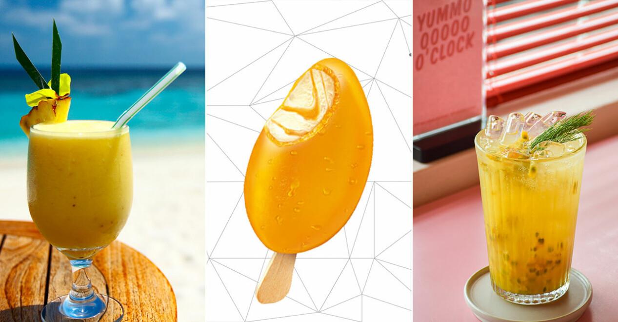 Solero Exotic och somriga drinkar på strand och café