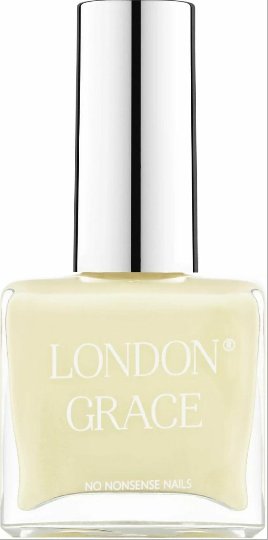 Solgult nagellack från London Grace.