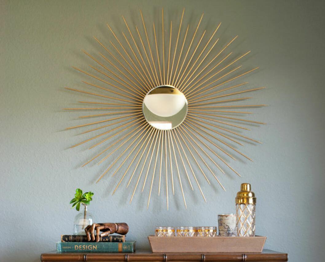Spegel  solformat