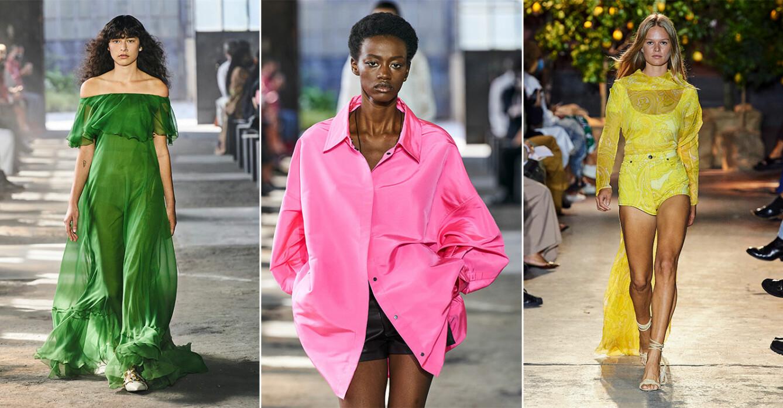 10 största trendfärgerna sommaren 2021.