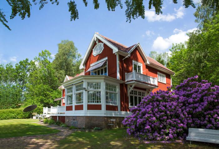 Villa Granliden i jugendstil i Skogsryd utanför Borås